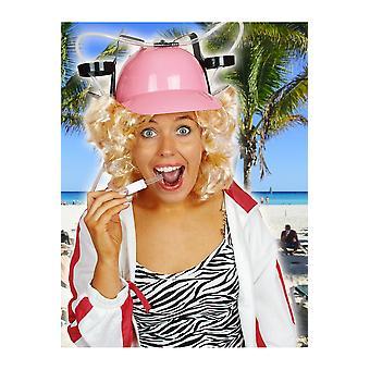 Adult  Pink helmet for drinks
