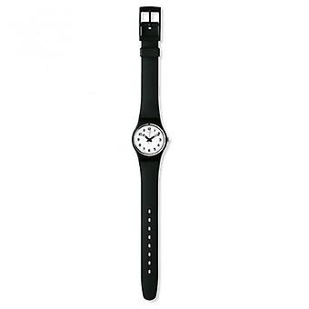 Swatch Lb153 Something New Black Plastic Watch