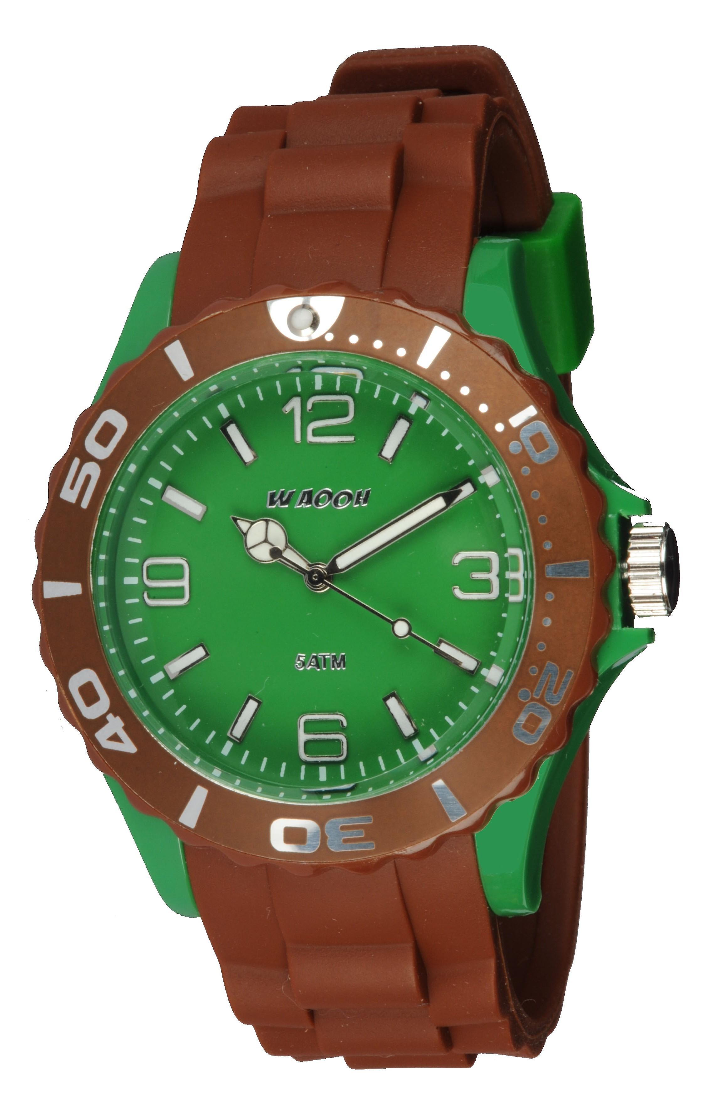 Waooh - Watch MC42 bicolor & groen