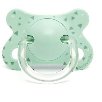 Suavinex Anatomical Pacifier Latex Swallow Blue 2 to 4 Months