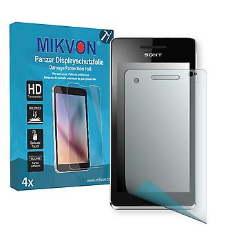 Sony Tsubasa Screen Protector - Mikvon Armor Screen Protector (Retail Package with accessories)