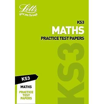 KS3 Maths praktiken Test papper (Letts KS3 Revision framgång) av KS3 Ma