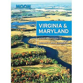Moon Virginia & Maryland - inklusive Washington DC av Michaela Riva Ga