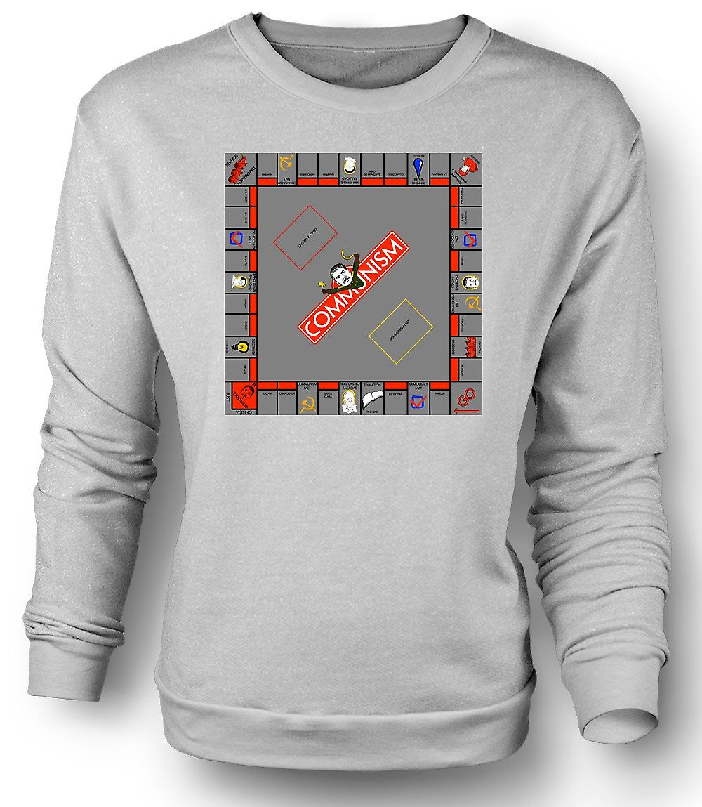 Mens Sweatshirt Monopoly Communist Version - Funny