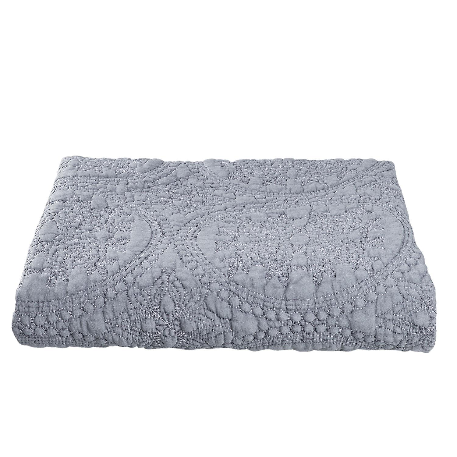 Clayre Eef Plaid.Clayre Eef Plaid Cuddly Blanket Couch Blanket Bed Cover Stonewashed 150x150 Cm