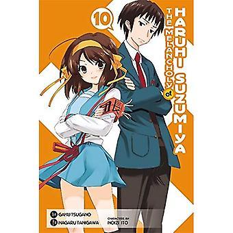 The Melancholy Of Haruhi Suzumiya, Vol.10- Manga