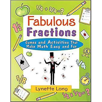Utmärkt fraktioner: Spel och aktiviteter som gör matematik lätt och roligt (magiska Math)