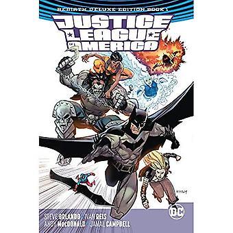 Justice League Of America die Wiedergeburt Deluxe Edition Buch 1 (Wiedergeburt)