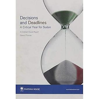 Decisions and Deadlines: A Critical Year for Sudan (Chatham House Report)