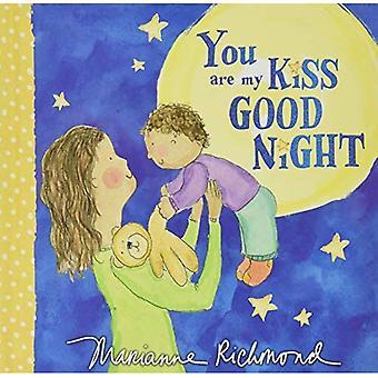 Du är min puss godnatt (Marianne Richmond) [styrelse bok]