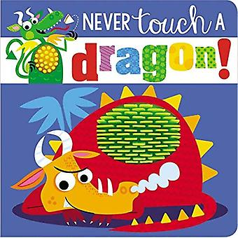 Never Touch a Dragon [Board book]