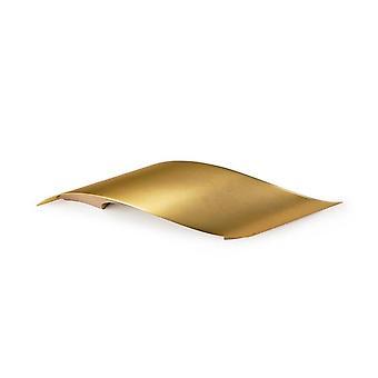 Rizz Large Satin Brass LED Wall Light - Grok 05-1822-27-27