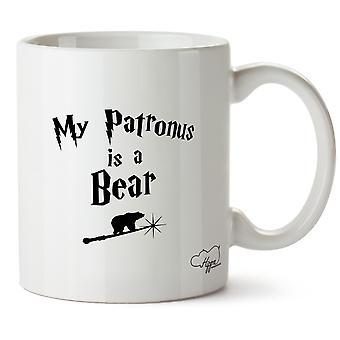 Hippowarehouse My Patronus Is A Bear 10oz Mug Cup