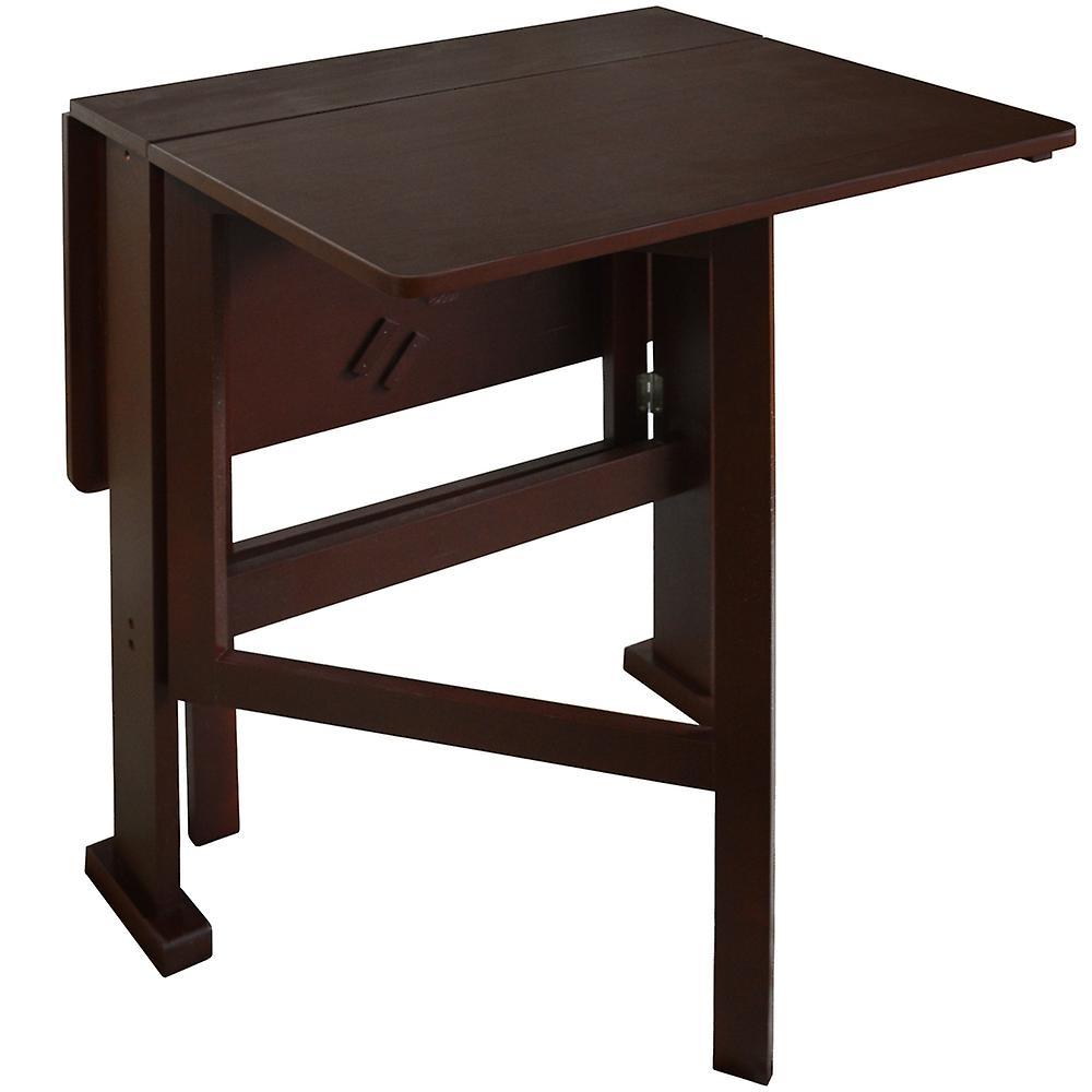 Manger PersonnesCraft Finition Compact Noire Table Vantail À RabatDrop 2 Ygyf76vb