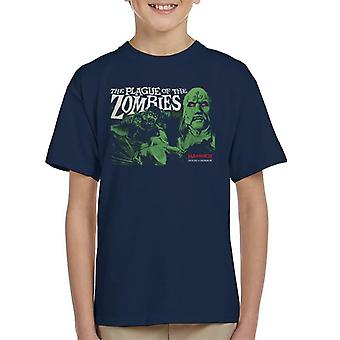 Hammer The Plague Of The Zombies Poster Kid's T-Shirt