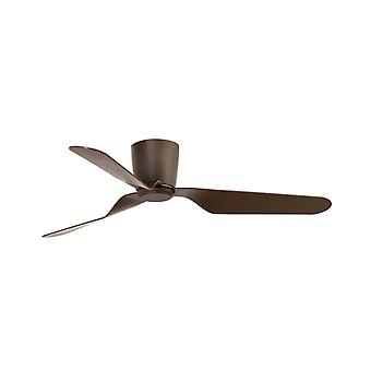 Ventilatore da soffitto a corrente continua Pemba Brown con telecomando
