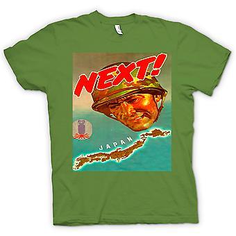 القميص النسائي-اليابان القادم--الحرب ملصق تي شيرت