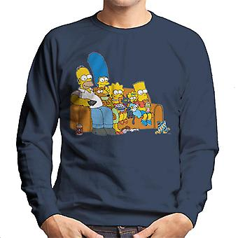 The Simpsons Movie Time Men's Sweatshirt