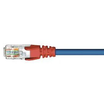 1m CAT4 RJ45 Crossover with Red Boot Cable