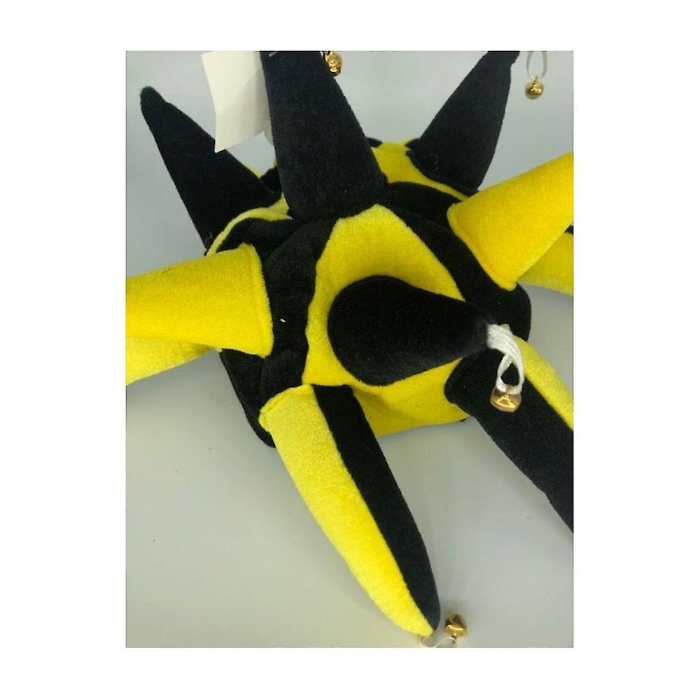 Union Jack Wear Black & Yellow Jesters Hat