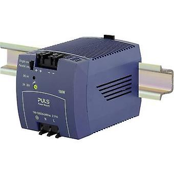 PULS MiniLine ML100.100 Rail mounted PSU (DIN) 24 Vdc 4.2 A 100 W 1 x