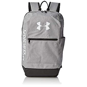 Under Armour UA Patterson Backpack - Zaino Unisex Adulto - Grigio (Steel Medium Heather/Black/White 035) - TAGLIA UNICA