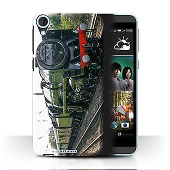 STUFF4 Case/Cover for HTC Desire 820q Dual/Oliver Cromwell/Steam Locomotive