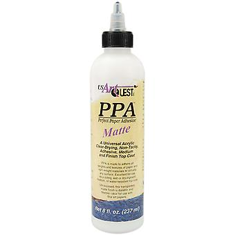 Perfect Paper Adhesive 8 Ounce Matte Ppa101