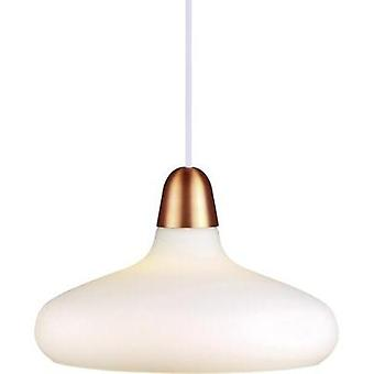 Pendant light HV halogen E27 40 W Nordlux Bloom 78183030 Copper, White