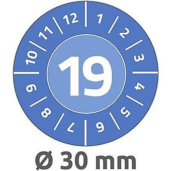 Avery-Zweckform 6946 Labels (hand writable) Ø 30 mm Film Blue 80 pc(s) Permanent Test labels