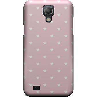 Kill cover Pink with hearts for S4 Galaxy mini