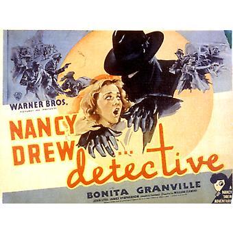 Nancy Drew - Detective Bonita Granville 1938 Movie Poster Masterprint