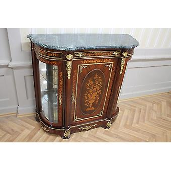 Baroque sideboard antique style chest marble baroque antique style Louis xv MkMo0087Gn