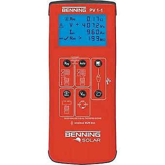 Benning PV 1-1 VDE Tester Calibrated to ISO standards