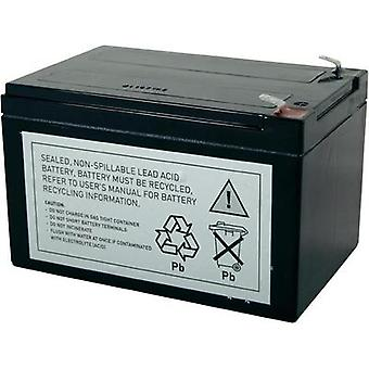 UPS battery Conrad energy replaces original battery RBC4 Suitable for (misc.) APC62A, BE750-CN, BE750BB, BE750BBX450, BK