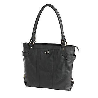 Dr Amsterdam Hand/shoulder bag Basil Black