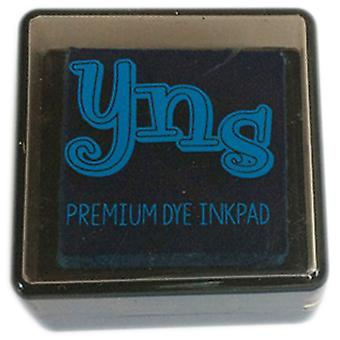 Your Next Stamp Premium Dye Ink Cube-Blue Curacao YNSIC003