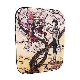 Amy Brown `Temptations` Fairy Neoprene Tablet Sleeve
