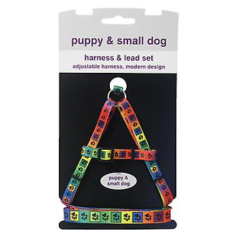 Wag N Walk Puppy Harness & Lead (Pack of 2)