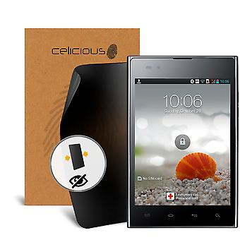 Celicious Privacy LG Optimus Vu P895 2-Way Visual Black Out Screen Protector