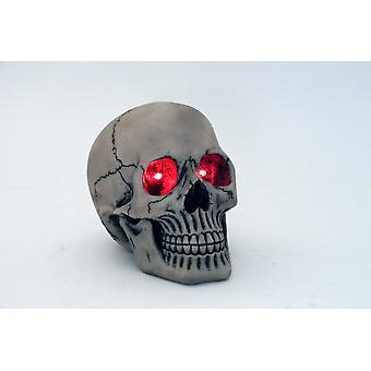 Idea de regalo de 20cm LED calavera luz ornamento decorativo figuras