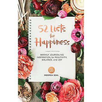 52 Lists For Happiness by Seal Moorea