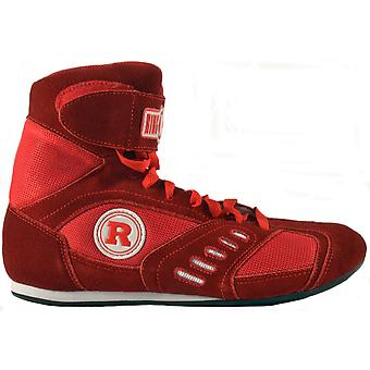 Power Ring boxeo zapatos - rojo
