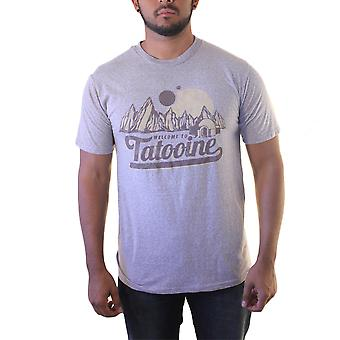 Star Wars Welcome to Tatooine Men's Grey T-shirt