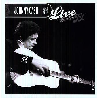 Johnny Cash - Live från Austin Tx (LP) [Vinyl] USA import
