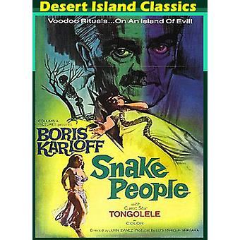 Snake People [DVD] USA import