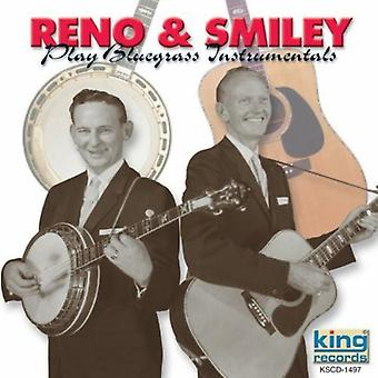 Reno & Smiley - Play Bluegrass Instrumentals [CD] USA import