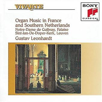 Leonhardt - Organ Music in France and Southern Netherlands [CD] USA import