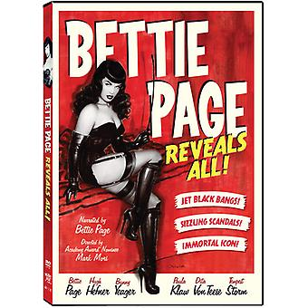 Bettie Page Reveals All [DVD] USA import