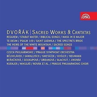 Dvorak / Prague Philharmonic Choir - Sacred Works & Cantatas [CD] USA import